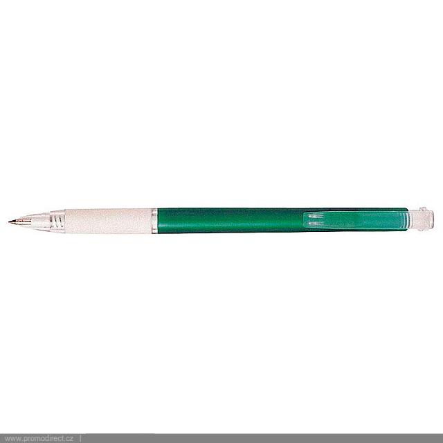 VIONE plastové kuličkové pero - zelená
