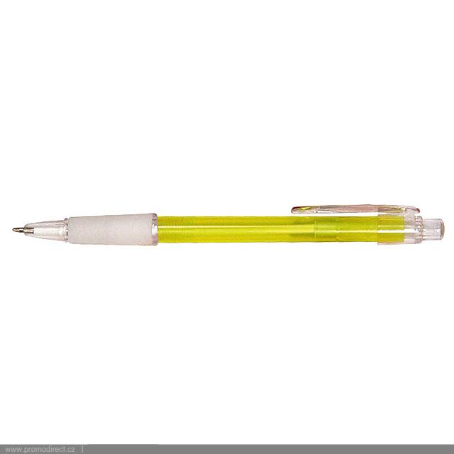 PROSTO plastové kuličkové pero - žltá