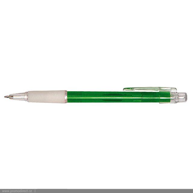 PROSTO plastové kuličkové pero - zelená