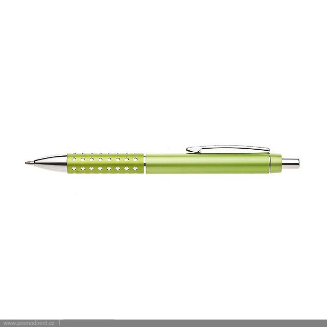 BLERA plastové kuličkové pero - citrónová - limetková