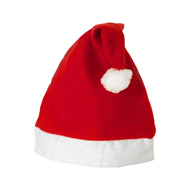 Christmas hat - transparent red