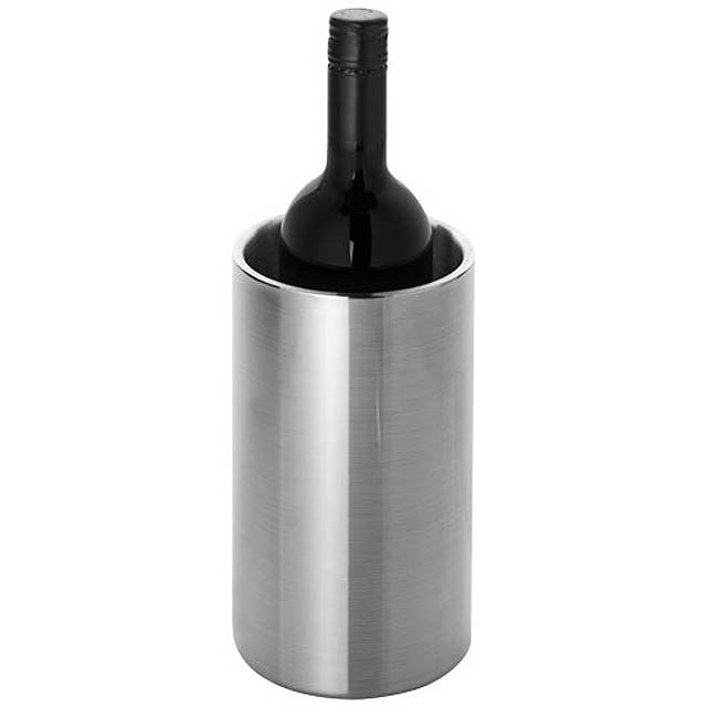 Ochlazovač vína Cielo s dvojitou stěnou z nerezové oceli - stříbrná lesk