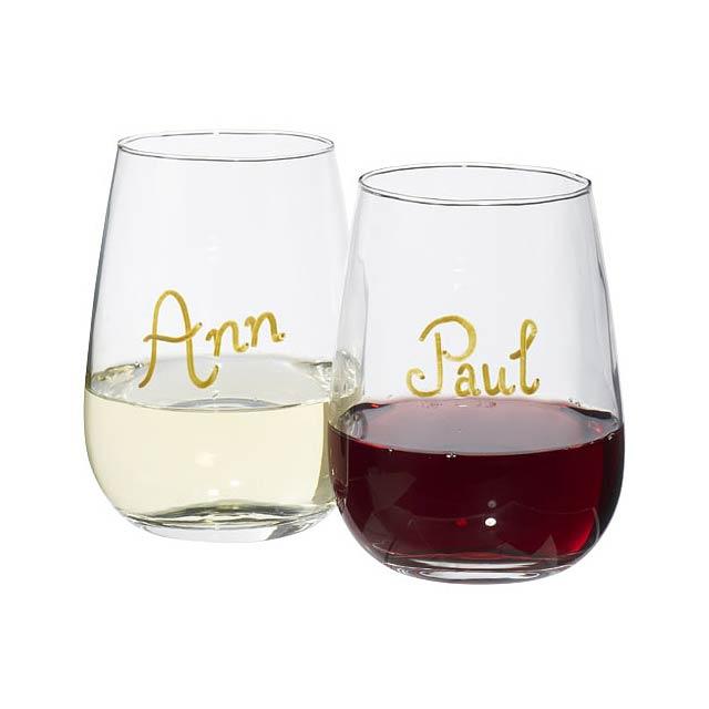 Sada skleniček na víno Barola - transparentní