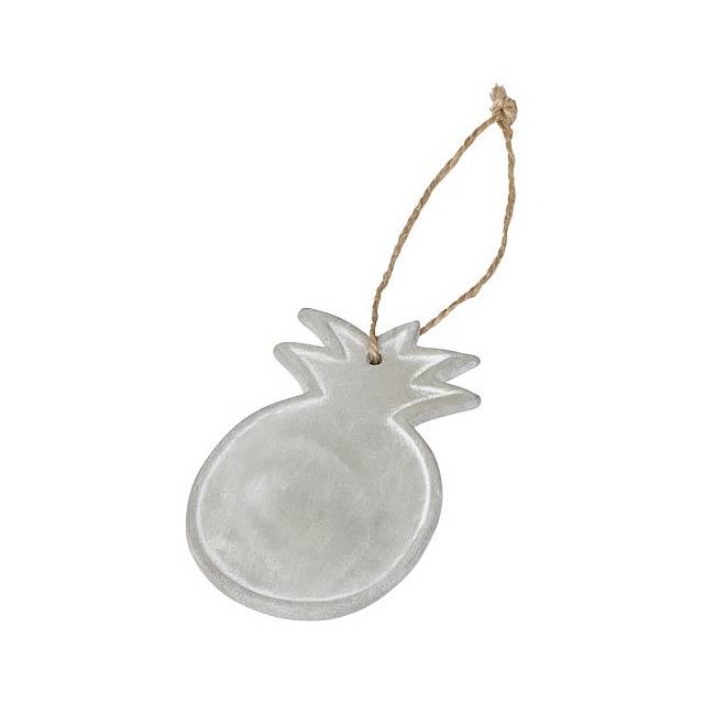 Ananasový ornament Seasonal - šedá