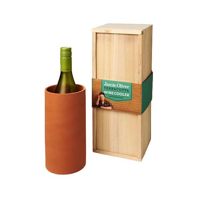 Chladicí obal na víno Terracotta - oranžová