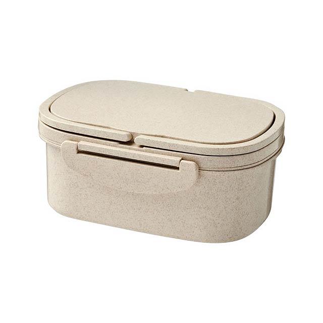 Krabička na svačinu z pšeničné slámy Crave - béžová