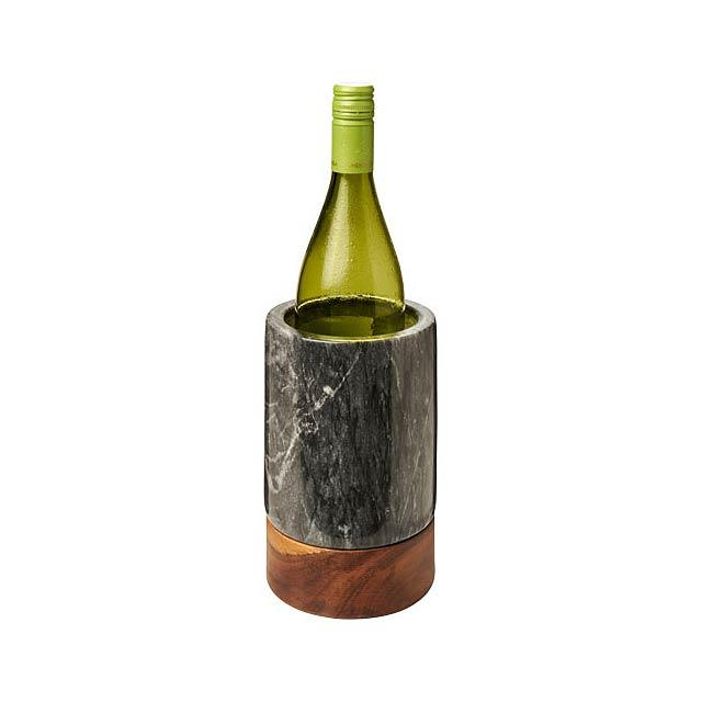 Chladič vína Harlow ze dřeva a mramoru - dřevo