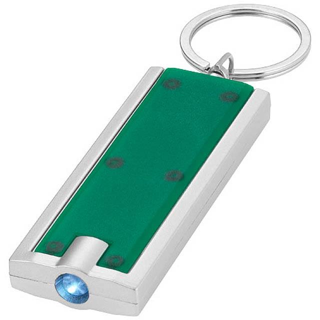 LED klíčenka - zelená