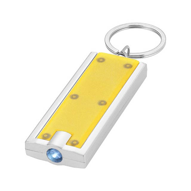 Castor LED keychain light - yellow