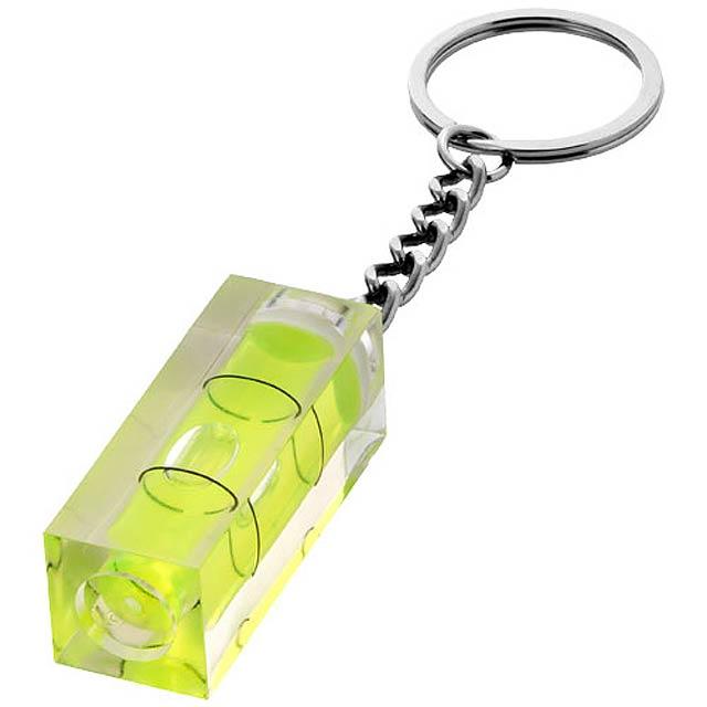 Malá klíčenka - vodováha. - transparentní