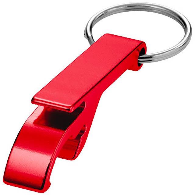 Hliníkový otvírák - červená