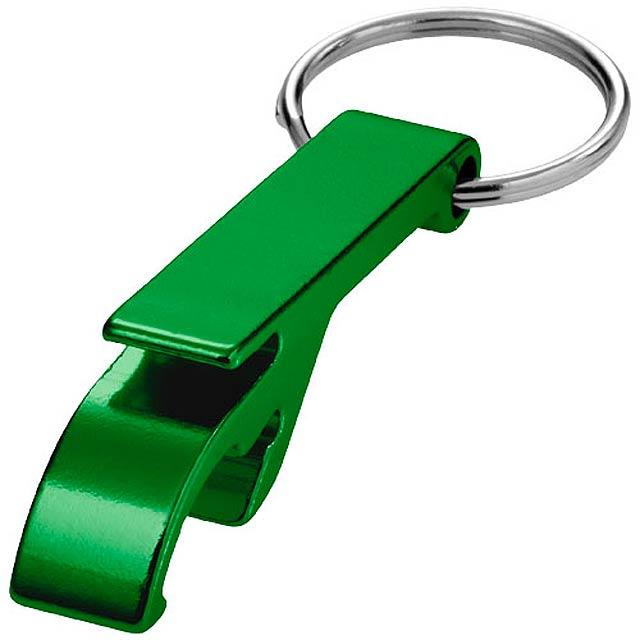 Hliníkový otvírák - zelená