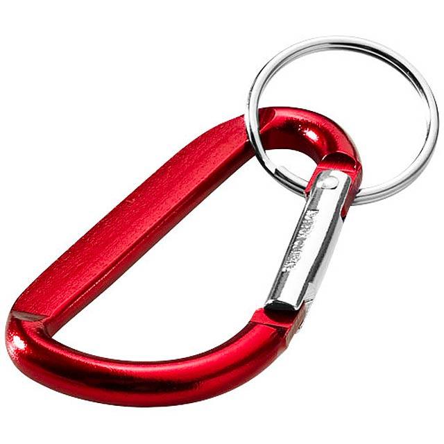 Karabinka na klíče Timor - červená