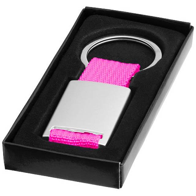 Přívěsek na klíče Alvaro - stříbrná