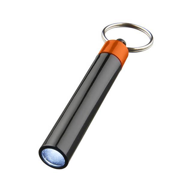 Kvalitní klíčenková svítilna Retro - oranžová