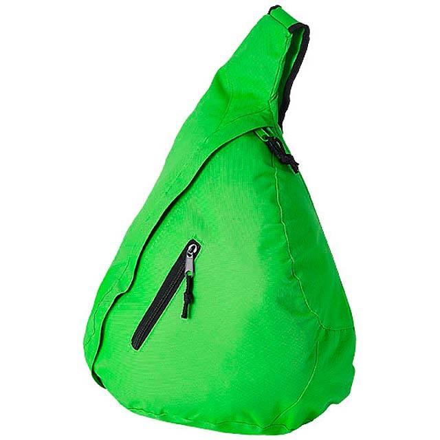 Městský trojúhelníkový batoh Brooklyn - zelená