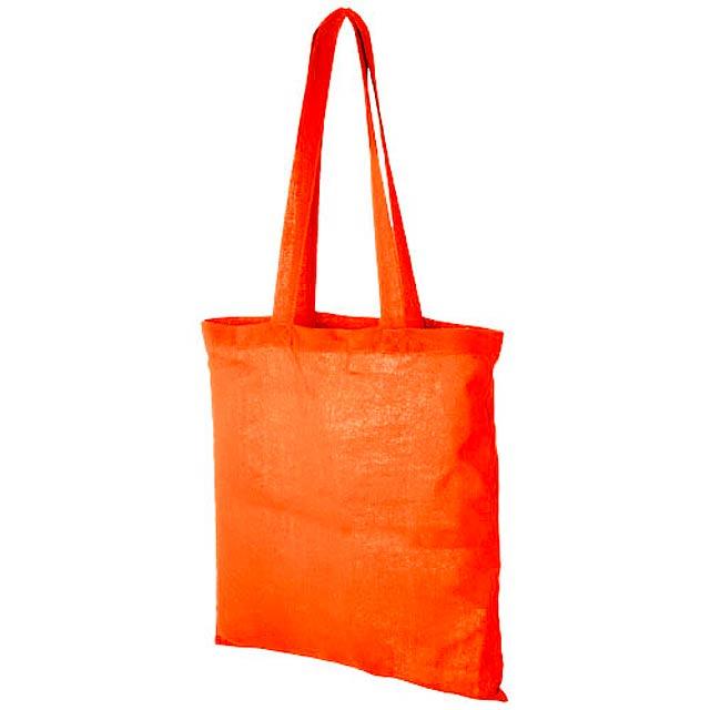 Bavlněná odnoska Carolina - oranžová