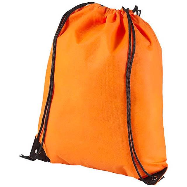 Netkaný, vysoce kvalitní batůžek Evergreen - oranžová