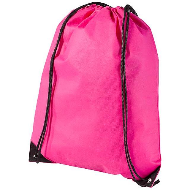 Netkaný, vysoce kvalitní batůžek Evergreen - růžová