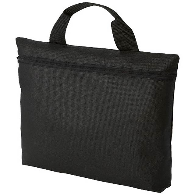 Netkaná konferenční taška Edison - černá