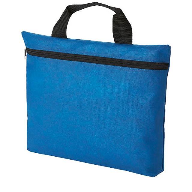 Netkaná konferenční taška Edison - modrá