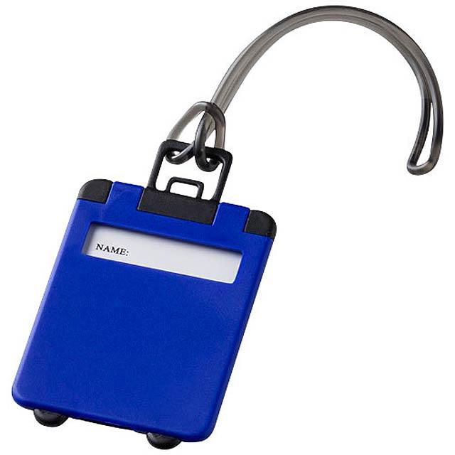 Jmenovka na kufr - modrá