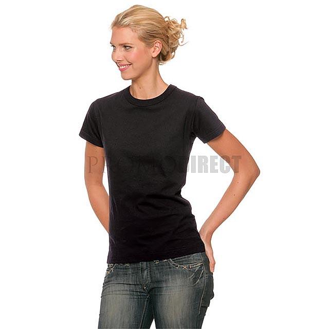 B&C - Dámské tričko - černá