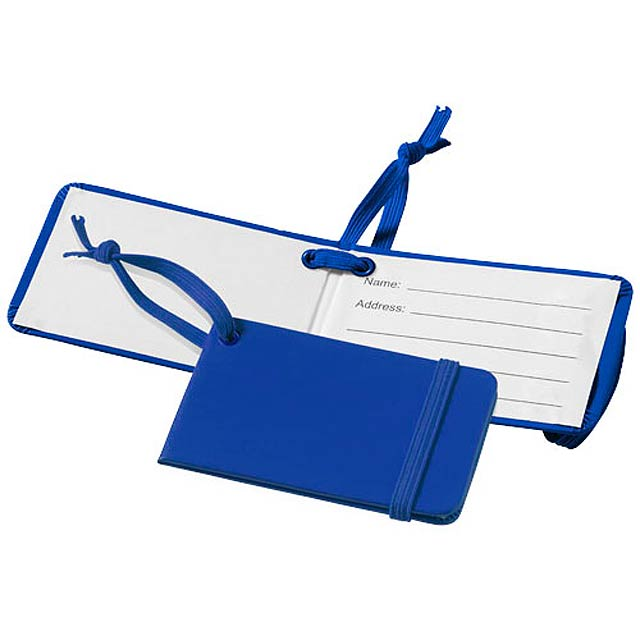 Zavazadlová visačka Tripz - královsky modrá