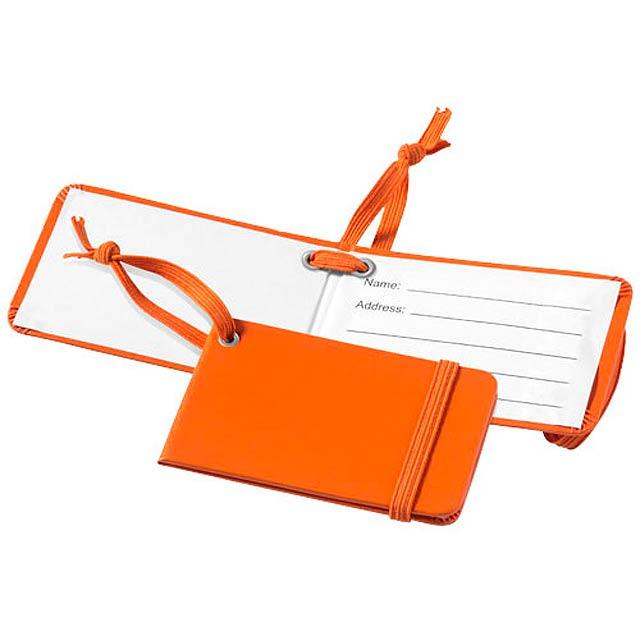 Zavazadlová visačka Tripz - oranžová