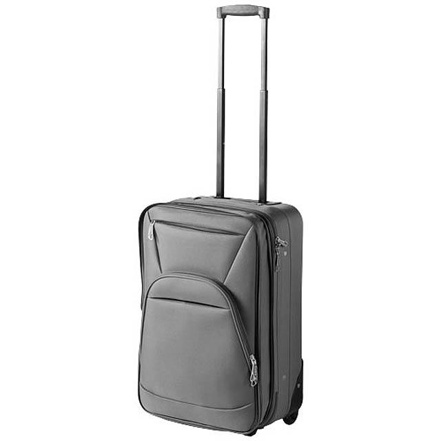 Přenosné rozšiřitelné zavazadlo - šedá