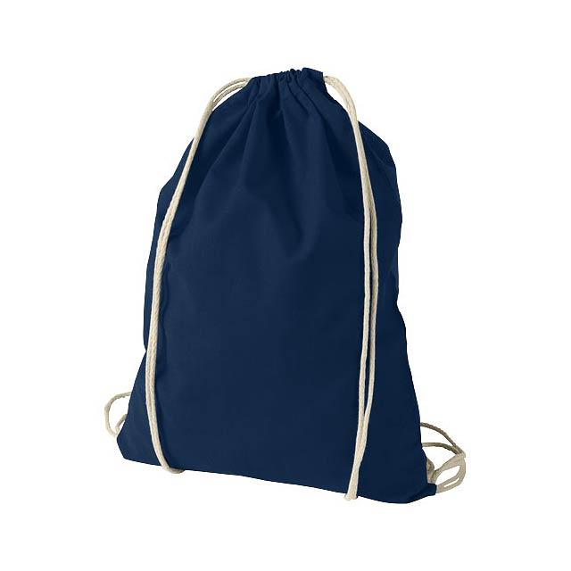 Bavlněný kvalitní batůžek Oregon - modrá