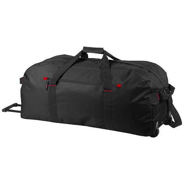 Cestovní kufr na kolečkách Vancouver - černá
