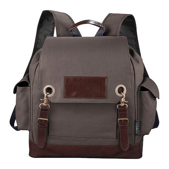 Klasický batoh - šedá