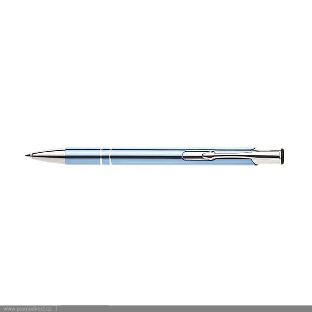 ORIN kovové kuličkové pero - nebesky modrá