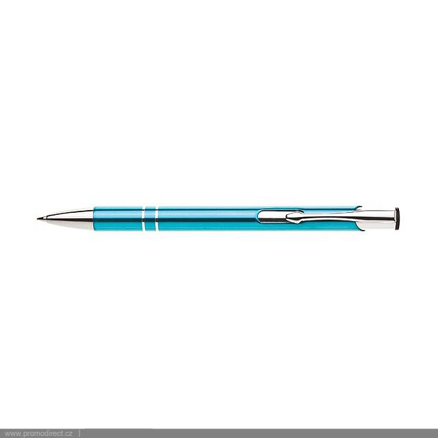 ORIN kovové kuličkové pero - tyrkysová