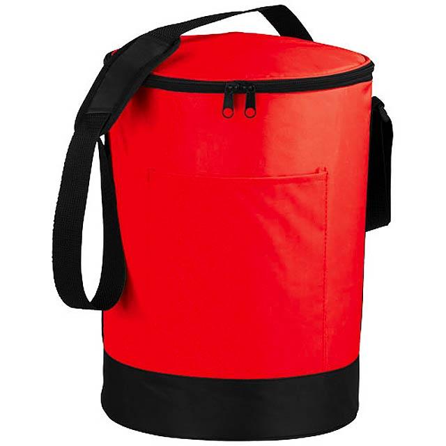 Válcová termotaška Bucco - červená