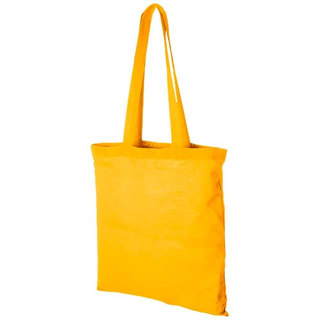 Bavlněná odnoska Madras - žlutá