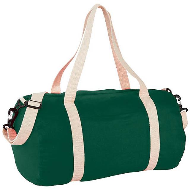 Bavlněná taška Duffel - zelená