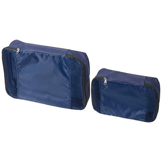 Sada 2 cestovních tašek - modrá