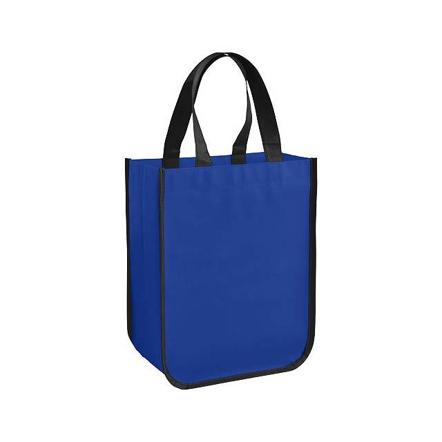 Malá laminovaná nákupní taška Acolla - modrá