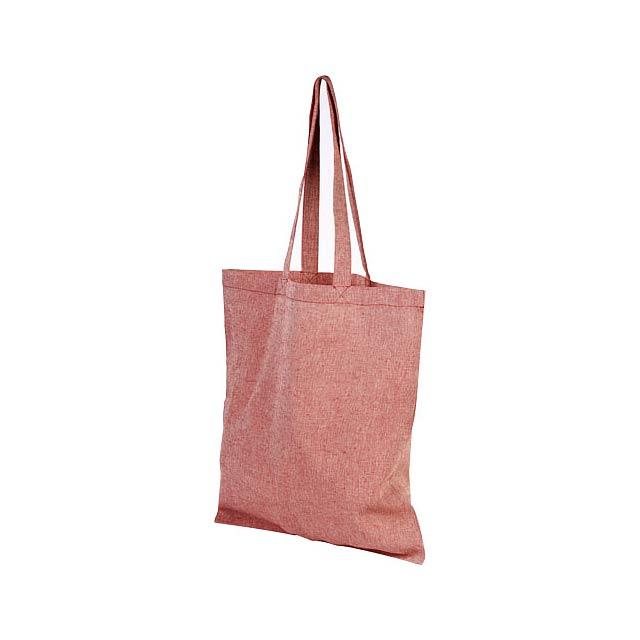 Odnoska Pheebs z recyklované bavlny 150 g/m² - červená