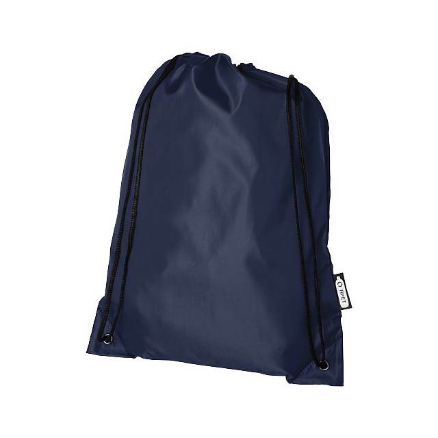 Oriole RPET šňůrkový batoh - modrá