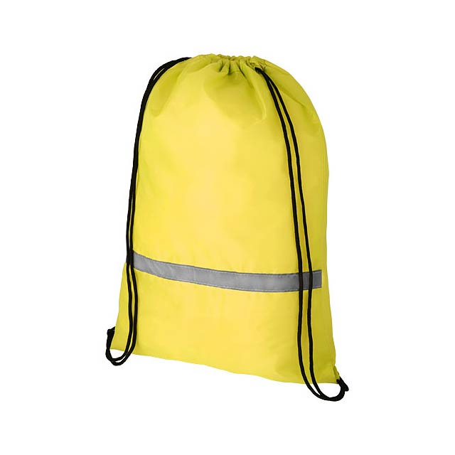 Oriole bezpečnostní šňůrkový batoh - žlutá