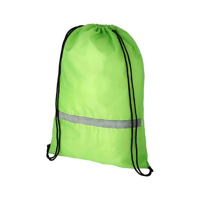 Oriole bezpečnostní šňůrkový batoh - zelená