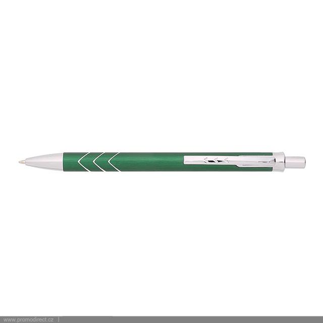 MONTA kovové kuličkové pero - zelená
