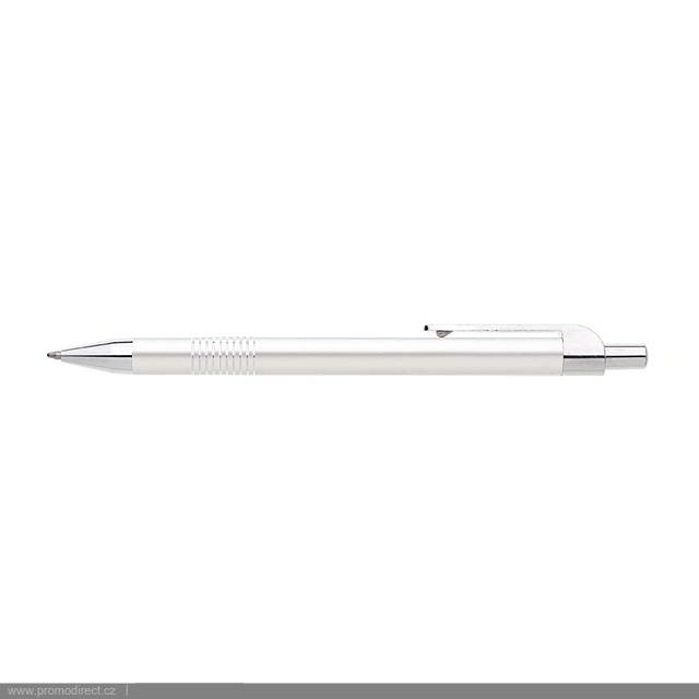 LAURIA kovové kuličkové pero - stříbrná