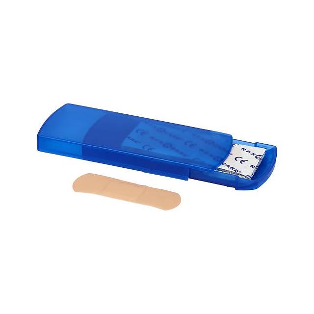 5dílná krabička s náplastmi Christian - modrá