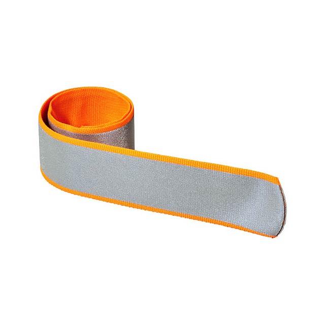 Reflexní omotávací pásek Felix - oranžová