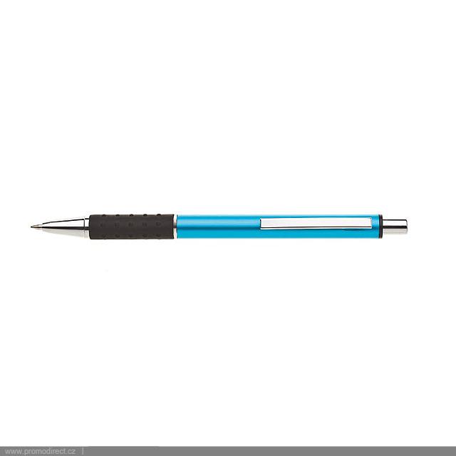 BIANA kovové kuličkové pero - tyrkysová