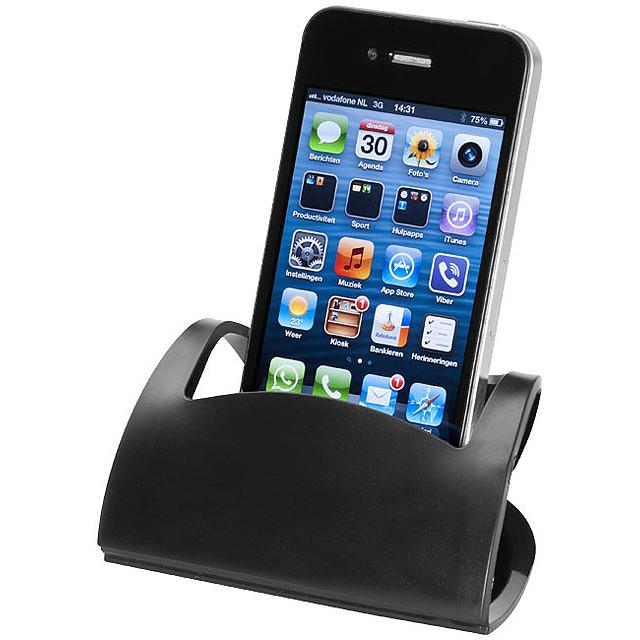 Skládací stojánek na mobil - černá